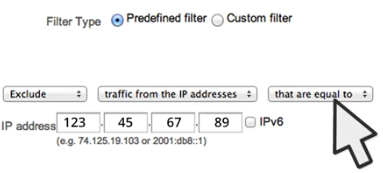 Google Analytics Filter to Exclude Internal Company Traffic